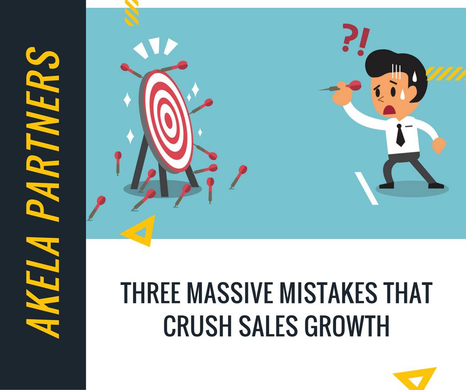3 massive mistakes