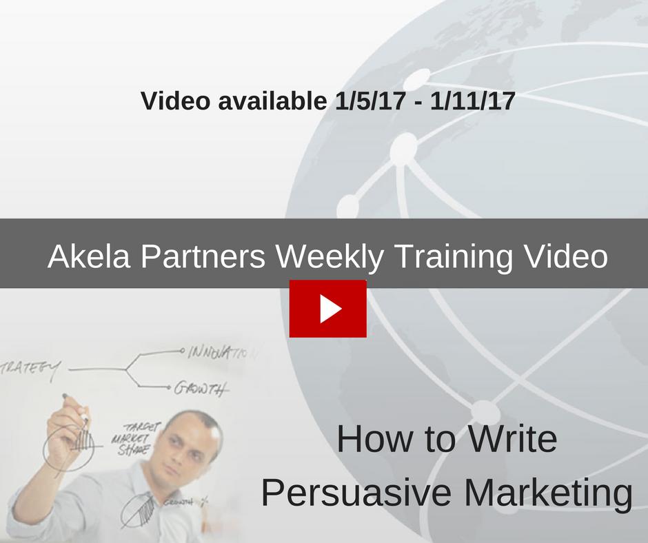 Akela Partners Weekly Training Video (6)
