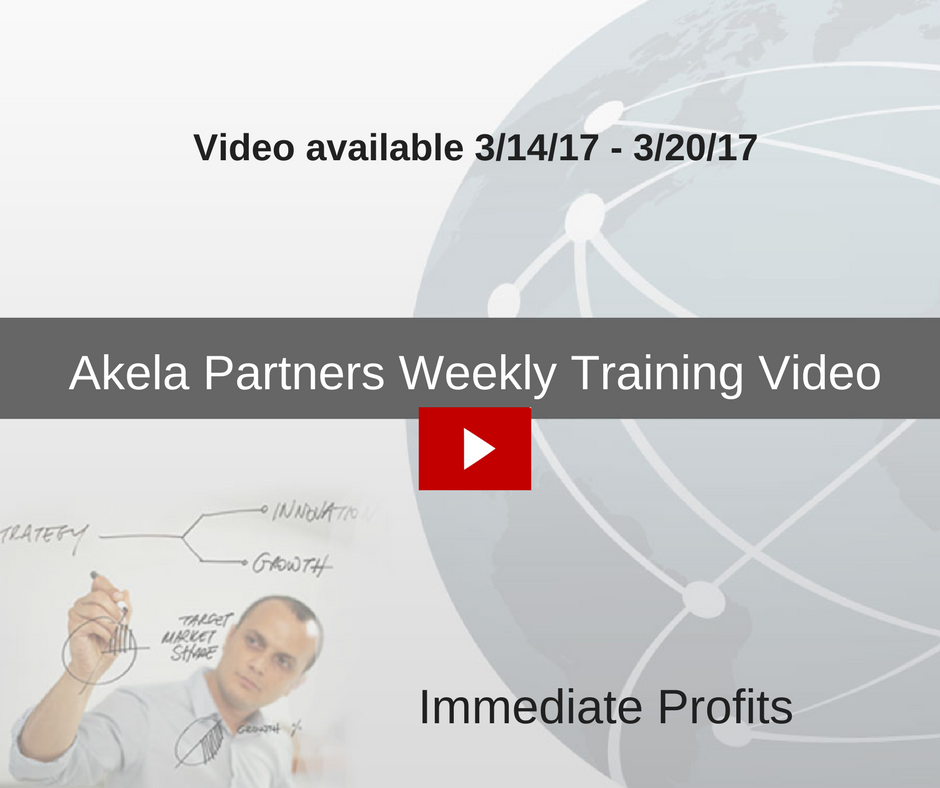 Immediate Profits Training Video
