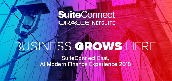Free Tickets To Oracle SuiteConnect 2018 In NYC 2/13/18