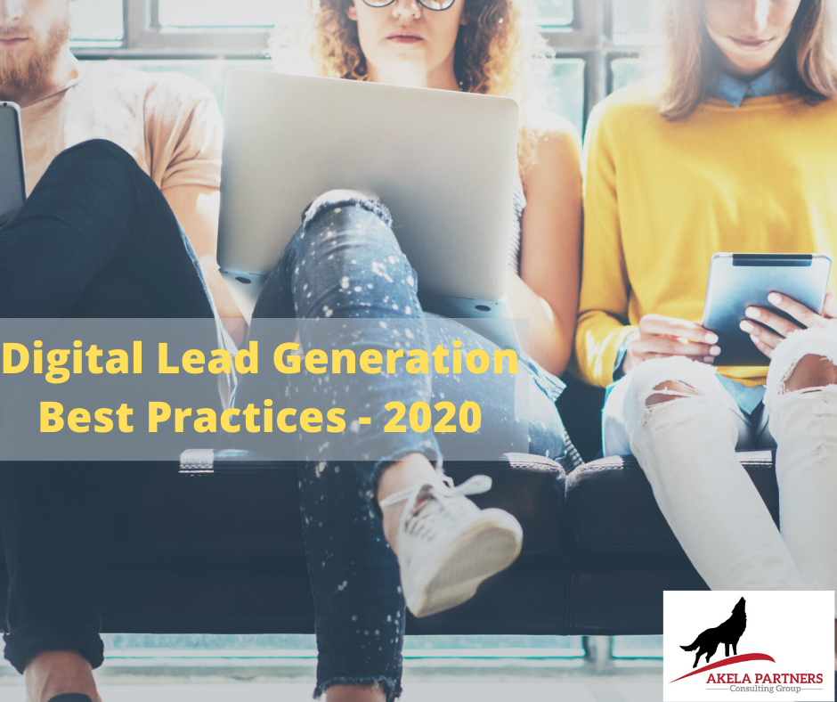 2020 Digital Lead Generation Best Practice